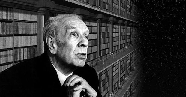 """""""I am not sure that I exist, actually. I am all the writers that I have read, all the people that I have met, all the women that I have loved; all the cities I have visited.""""  ― Jorge Luis Borges, born #OTD in 1899"""