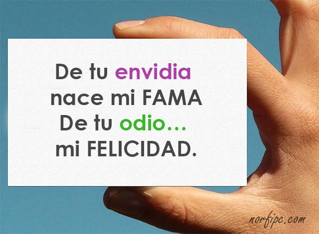 Frasesdeamor On Twitter De Tu Envidia Nace Mi Fama De Tu