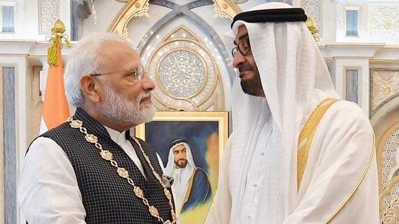 'आर्डर ऑफ ज़ायद' पर बधाई!प्रधानमंत्री श्री @narendramodi जी को #UAE का सर्वोच्च नागरिक सम्मान 'आर्डर ऑफ ज़ायद' मिलना हम सभी के लिए खुशियों का पल है! ये आपकी सरकार की उपलब्धियों और भविष्य की तैयारियों का भी सम्मान है!