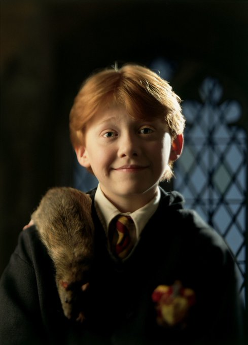Happy Birthday, Rupert Grint. Thanks for bringing Ron to life!