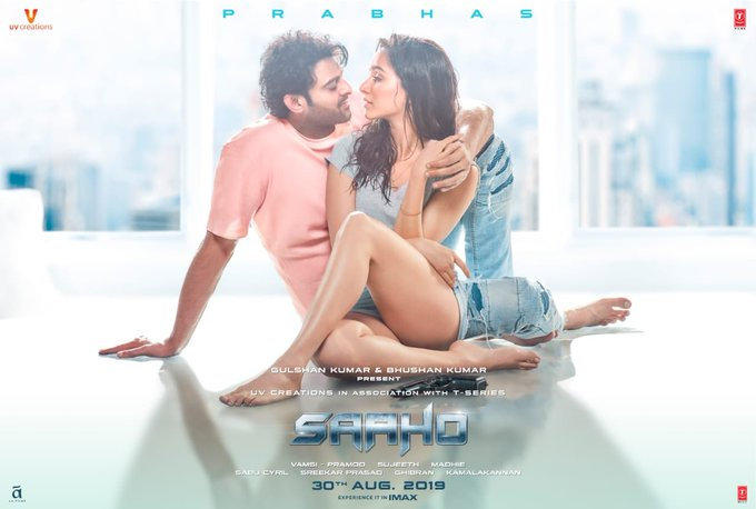 1 pic. Action. Romance. Thrill. Suspense❤️   #Saaho releases worldwide on 30th August! #30AugWithSaaho