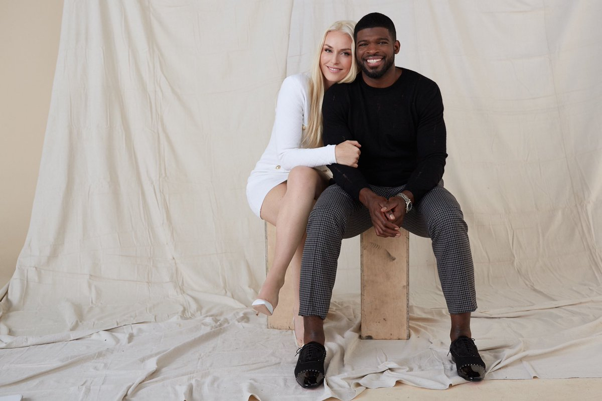Olympic gold medalists Lindsey Vonn and P.K. Subban are engaged