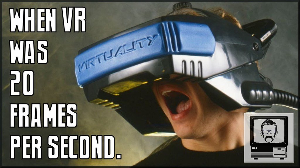Brand new video: youtu.be/_X_E_Kg9roE The Story of Virtuality   Nostalgia Nerd #RetroGaming