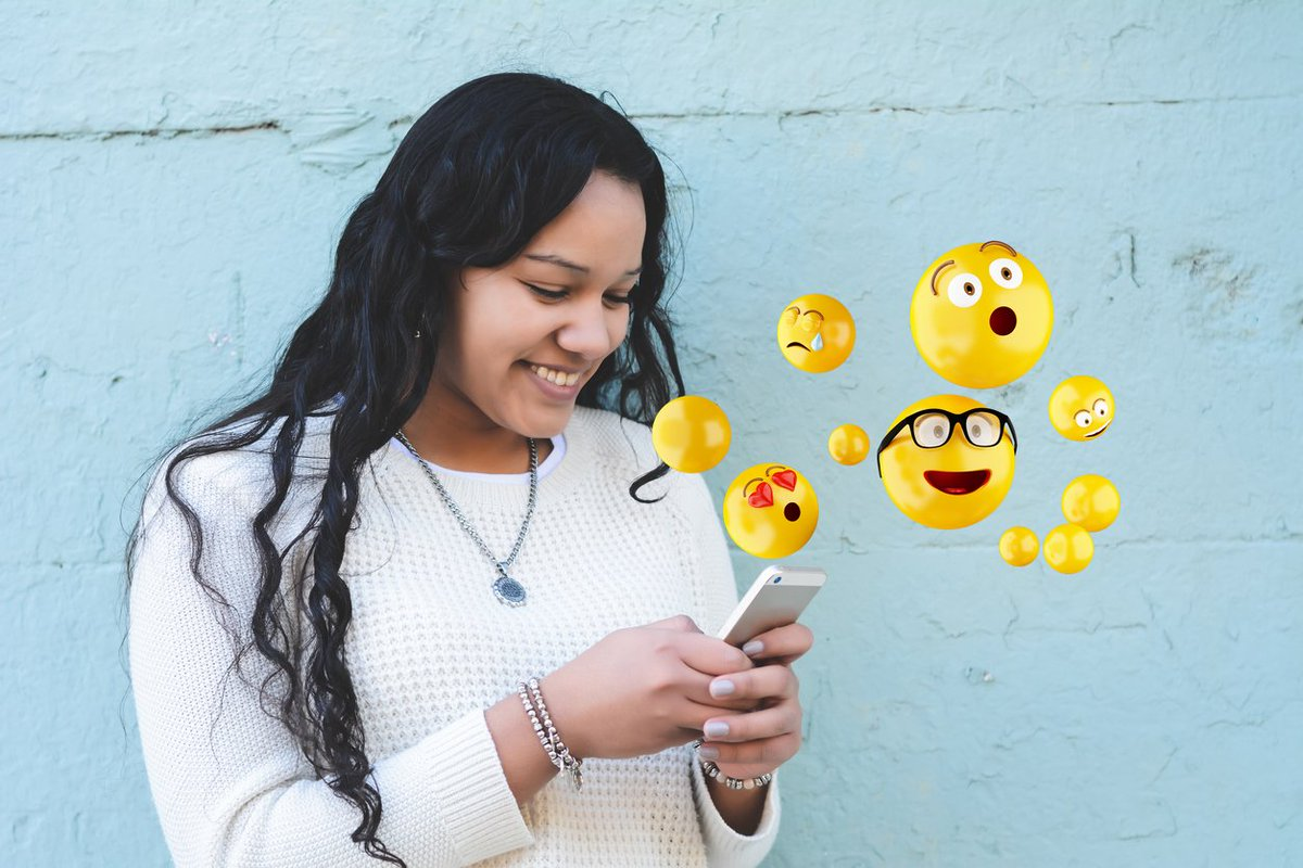 There's no day like #WorldEmojiDay to celebrate our favourite visual language. 😂😭😍😘 Click through for all the fun facts about emojis: http://ow.ly/zvKV101IUMv #TELUSWise