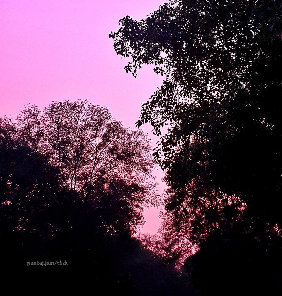 दिल्ली में कुछ देर पहले आसमान का रंग ... #MobileClick By @PankajJainClick