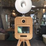 Vintage photo booth #retro #wedding #luxury