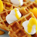 Image for the Tweet beginning: Celebrate #NationalWaffleDay with this can't-miss