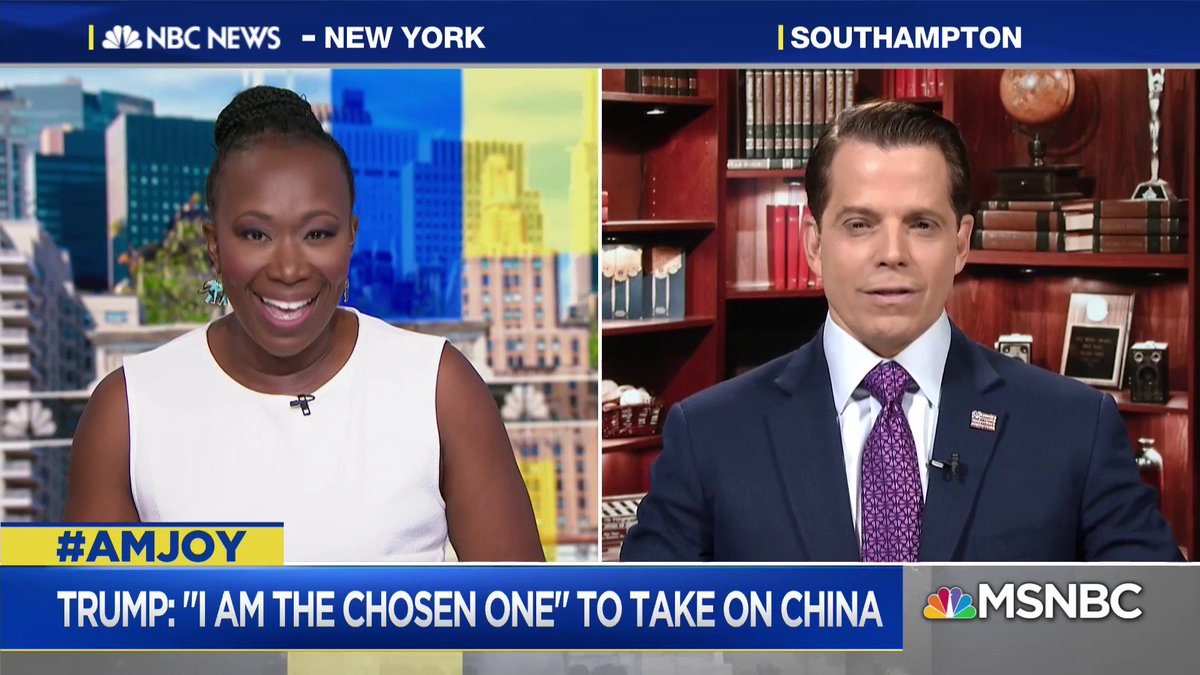 .@Scaramucci: This is an international crisis. You have to create an off-ramp for people that did what I did... Create the off-ramp for people that got this very wrong... #AMJoy