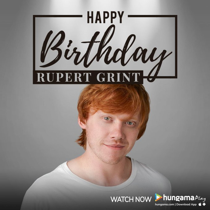 Happy Birthday to Rupert Grint Who\s 31 Today!