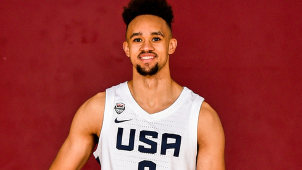 It is official, Spurs fans! Way to go Derrick!  Spurs' Derrick White named to final USA World Cup roster  https:// news4sanantonio.com/sports/content /spurs-derrick-white-named-to-final-usa-world-cup-roster  …  #nba #gospursgo <br>http://pic.twitter.com/GAK9Qiikui