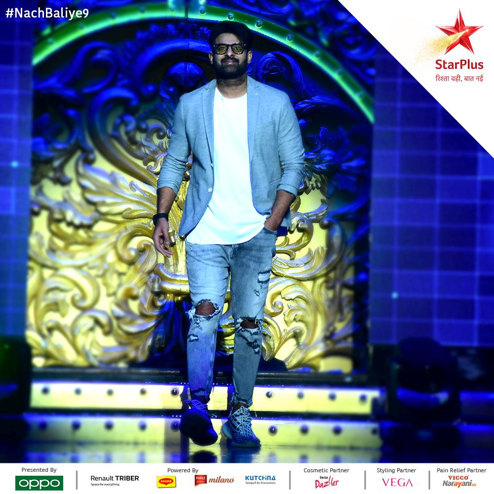 Are we hearing you scream for this superstar?  #Prabhas #NachBaliye9<br>http://pic.twitter.com/Pxt2zl6xFY
