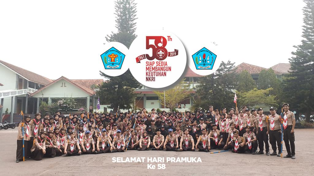 [ Rabu, 14 Agustus 2019 ] . . . Selamat Hari Pramuka Ke 58. Satu Pramuka untuk Satu Indonesia. Prabarasa Jaya! https://t.co/FCr1Qsb7RO