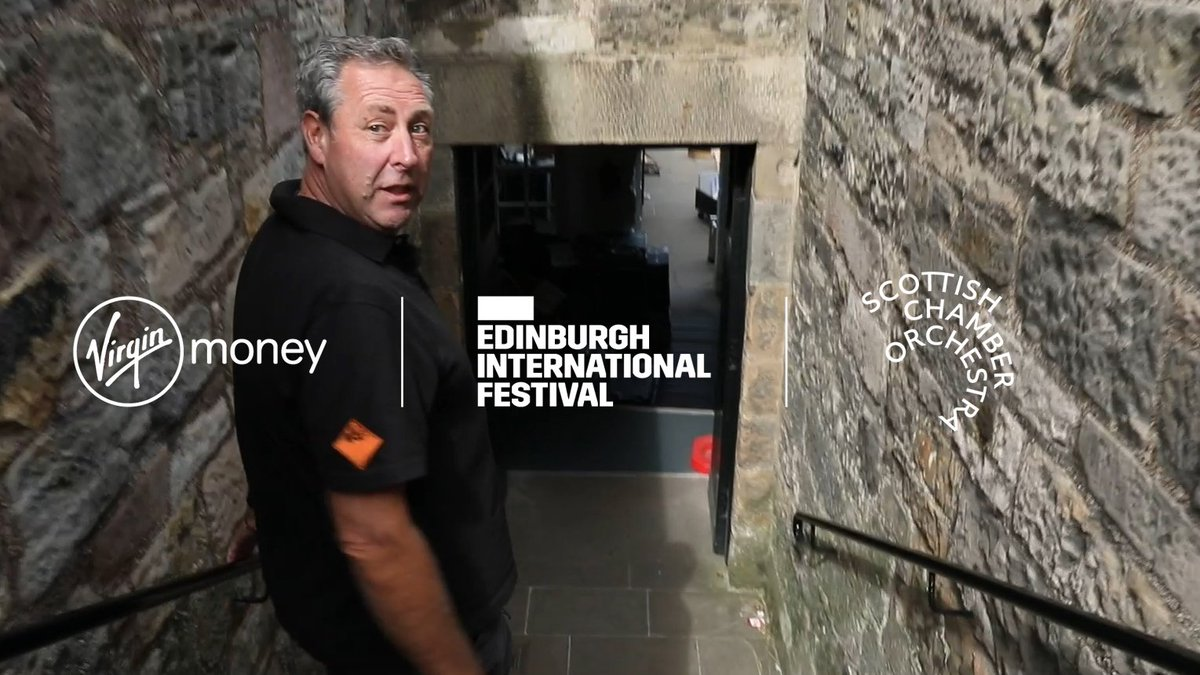 Fireworks Designer Keith Webb of @PyrovisionLtd takes us on a backstage tour of @edinburghcastle as the fireworks are set up for the #VMFireworks, taking place on 26 August in Princes Street Gardens: eif.buzz/2WoZmh6 Created for the @VirginMoney Fireworks Concert.