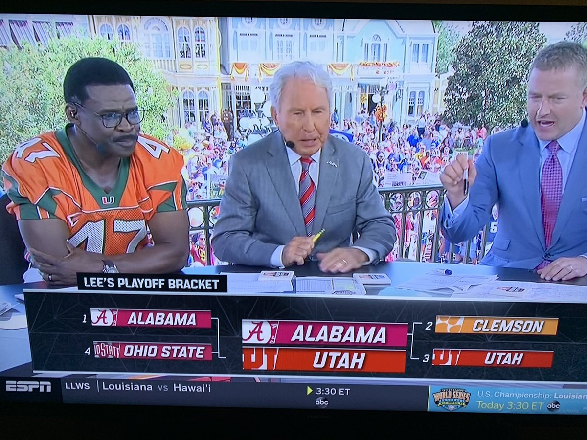 Lee Corso's Predicted National Title Matchup Is Going Viral