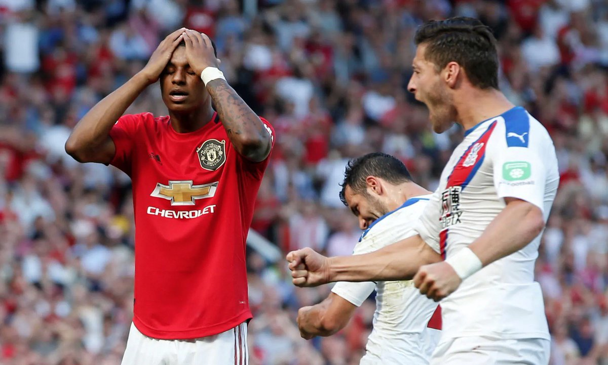 Guardian Sport On Twitter Premier League Fts Manchester United 1 2 Crystal Palace Watford 1 3 West Ham United Sheffield United 1 2 Leicester City Brighton 0 2 Southampton Https T Co R23uj7qahn Https T Co Pauqcp1psj