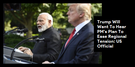 """Lead story now on Trump """"ready to assist"""" India and Pakistan over the Kashmir issue if both the countries ask for it: White House. #NDTVLeadStory #NarendraModi #Trump #G7 http://readr.me/kgnu0"""
