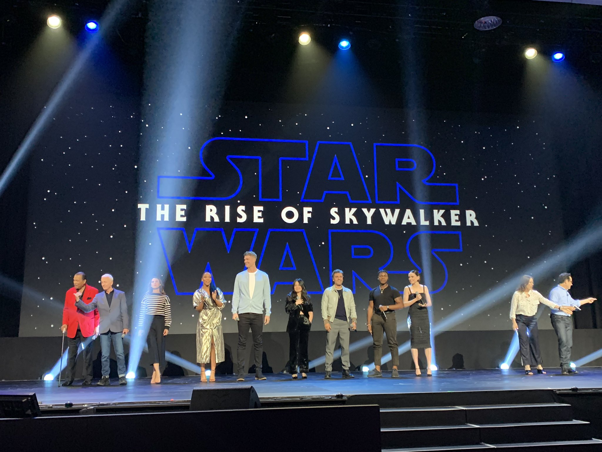 Star Wars: The Rise of Skywalker - D23 Expo: Movies Panel