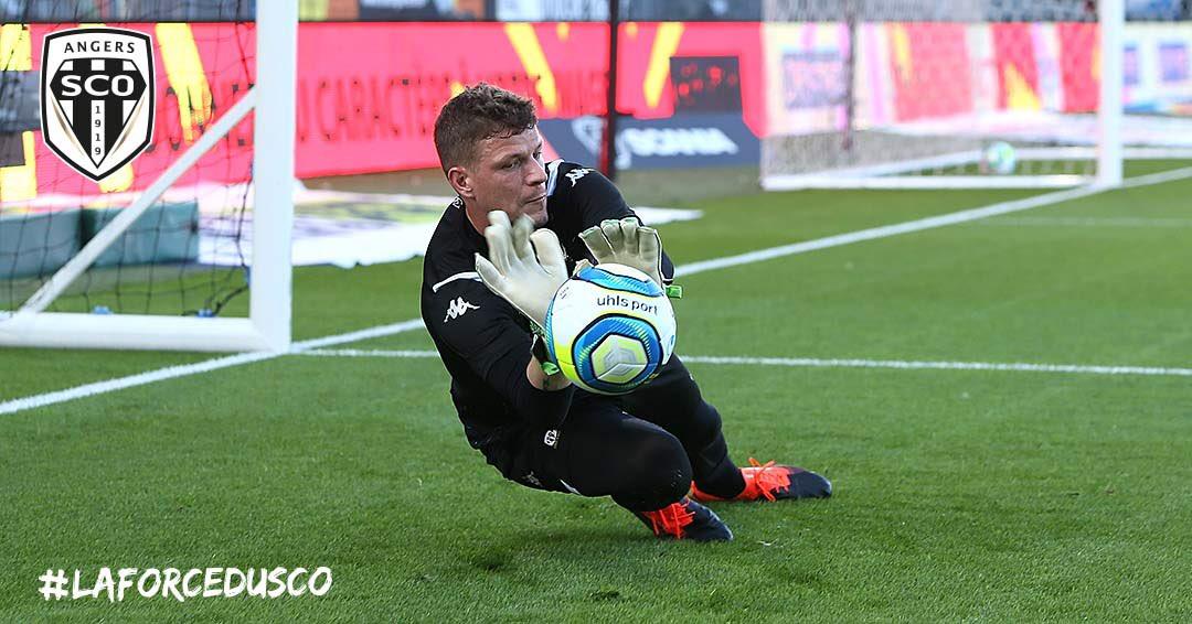 Angers SCO Metz Ligue 1 football Live photo Ouest MEDIAS Twitter Ludovic Butelle gardien de but