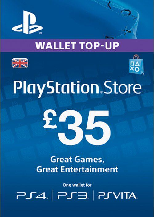 Get £35 #Playstation Network Credit with Instant Delivery #PSN #PS4 #PS3 #Vita #DigitalGamesHub #DGHub #Sale #Offer #Deal > Buy now: https://t.co/BSLwLrD6Or https://t.co/iY88RmZivo