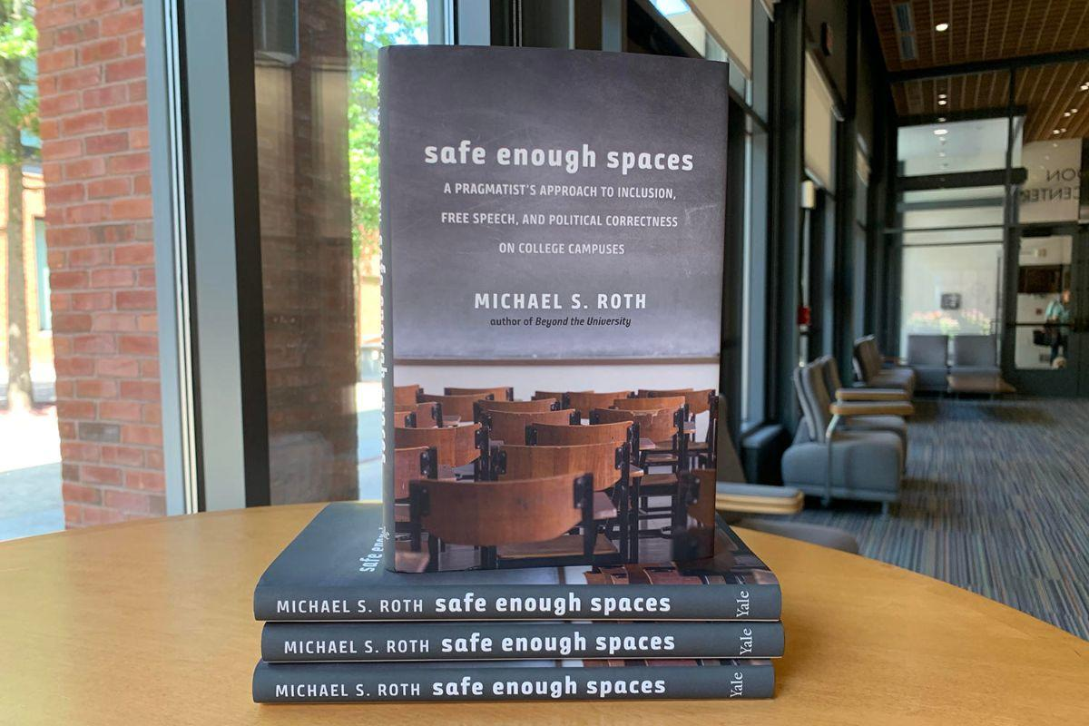 test Twitter Media - LISTEN: @mroth78 recently joined @jimbotalks #podcast to talk about his new book #SafeEnoughSpaces: https://t.co/O5vSBZxzMC  #SafeEnoughSpaces is published by @yalepress, and available for purchase here via @wesrjjulia: https://t.co/qh56CZMnfq   #FreeSpeech #IntellectualDiversity https://t.co/HszO5eueUf