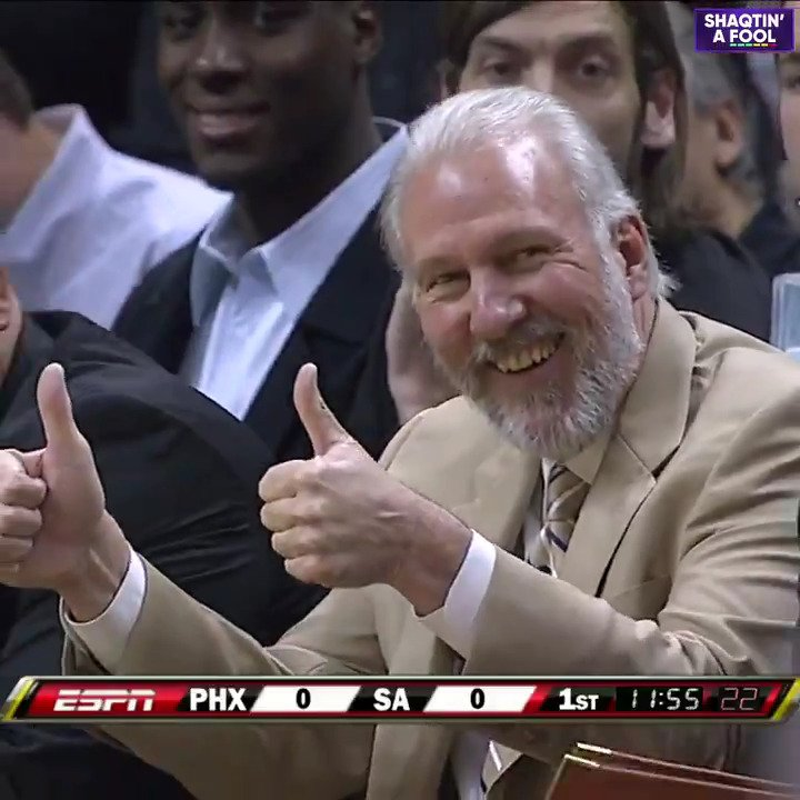 When Coach Pop called for a strategic Hack-a-Shaq ... five seconds into the 08-09 season. 😭🤣