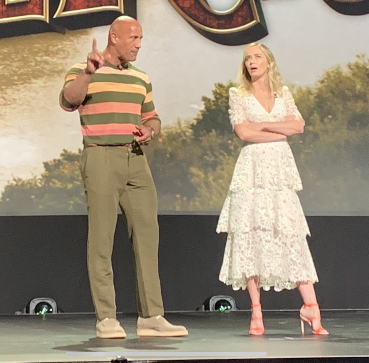 'Jungle Cruise,' with Dwayne Johnson, Emily Blunt, previewed at D23