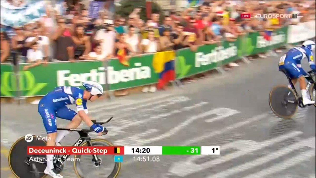 Team Astana wint eerste etappe Ronde van Spanje (Vuelta)