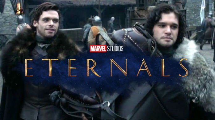 Fans are freaking out about the #GameofThrones reunion in Marvel's #TheEternals.   https:// comicbook.com/marvel/2019/08 /24/fans-react-kit-harrington-richard-madden-reuniting-the-eternals/  … <br>http://pic.twitter.com/Ru9QoQBGNh