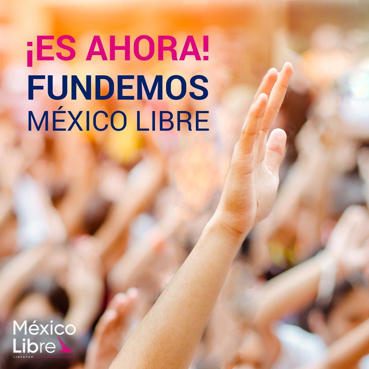 Porque sabemos que las cosas pueden estar mejor  #QuieroUnMéxicoLibre #MéxicoLibreAvanza