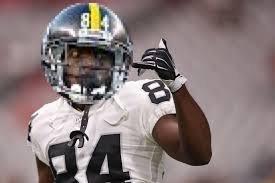 Antonio Brown's safety helmet https://t.co/2TiJIlVTGy