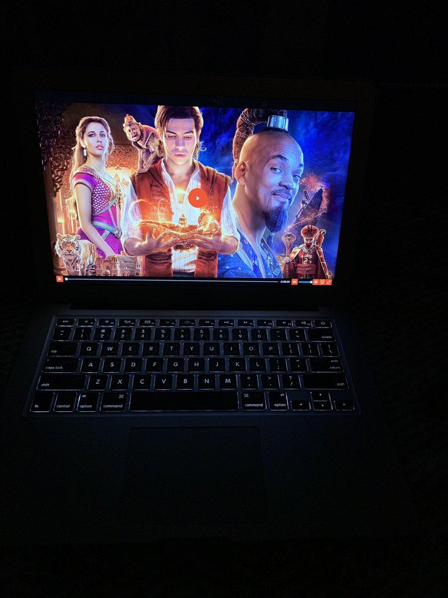 #NowWatching | #Aladdin2019 .  Finally  <br>http://pic.twitter.com/5fmCL9D347