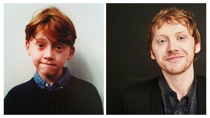 Happy birthday, Rupert Grint. Thank you for bringing Ron Weasley to life for us.