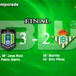 Image for the Tweet beginning: Final en Valdepeñas, primera derrota