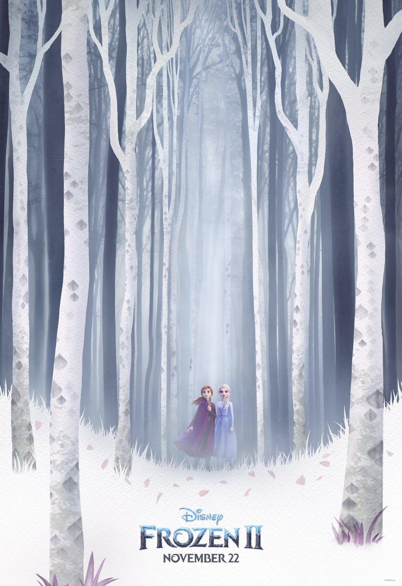 #Frozen2 arrives November 22nd. <br>http://pic.twitter.com/HDb0WB1X5g