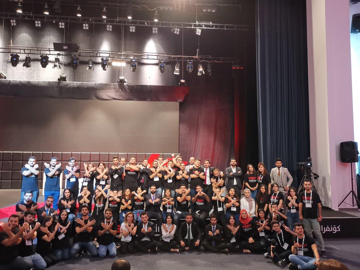 Great teamwork great success @TEDxNishtiman #TEDxNishtiman <br>http://pic.twitter.com/8UQMNgTJPx
