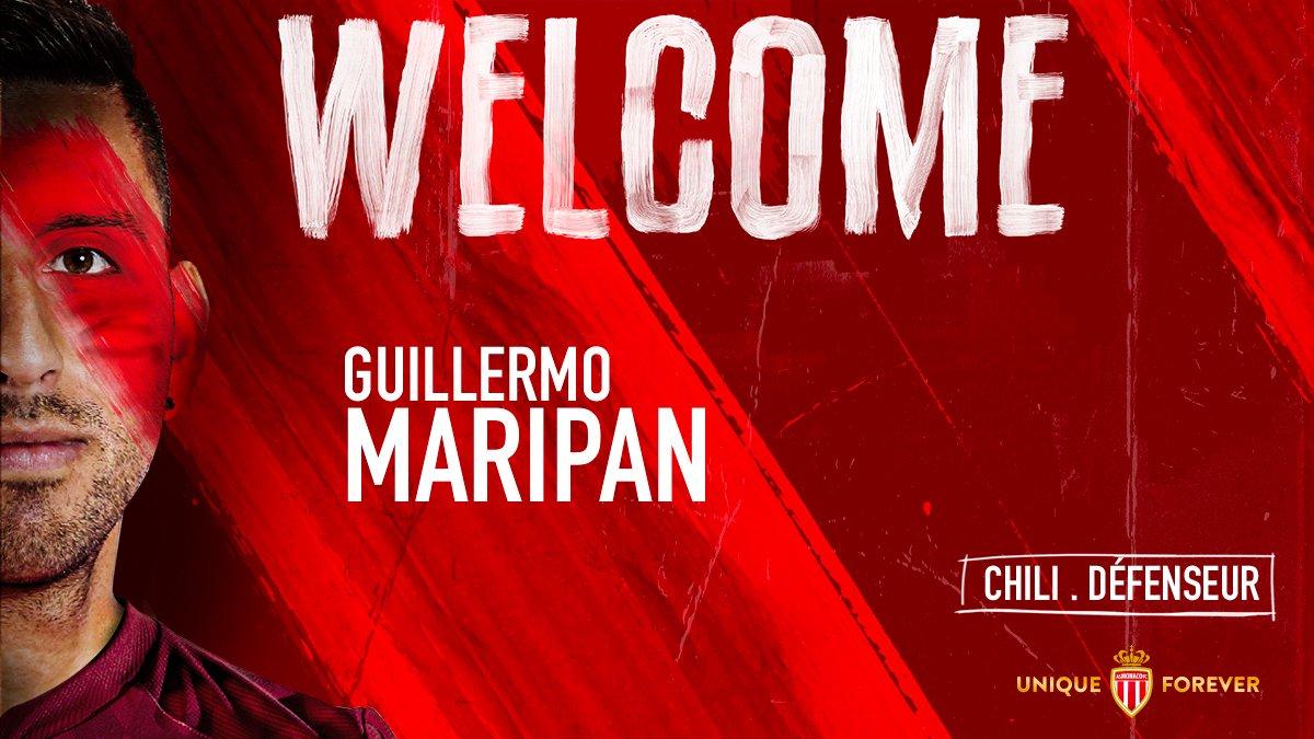 Monaco recrute Guillermo Maripan en défense (Officiel)