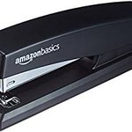 Image for the Tweet beginning: AmazonBasics Stapler-Black with 3-pack of