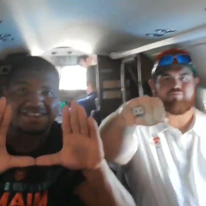 McCray, Campbell and several other Jags head out to see Canes vs. UF