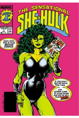 Hey Marvel can we get this version of the She-Hulk instead of the modern crap? The OG Deadpool...