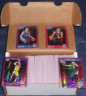 2018/19 DONRUSS OPTIC HYPER PINK PRIZM REFRACTOR LOT (169) W/ LUKA DONCIC ROOKIE: $26.11 (11 Bids) End Date: Saturday Aug-24-2019 19:35:30 PDT Bid now | Add to watch list https://t.co/PjpHXIJsP4 https://t.co/uFMx58aiWN