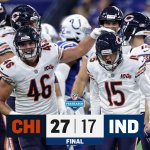 Image for the Tweet beginning: FINAL: The @ChicagoBears get the