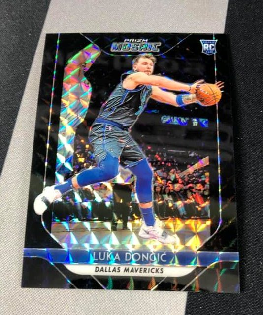 Nice hit pulled by @BlezBros   Luka Doncic 1/1   #lukadoncic #paniniamerica #1of1 #oneofone #prizmbasketball #nba #mavericks https://t.co/cKjWeJhG6A