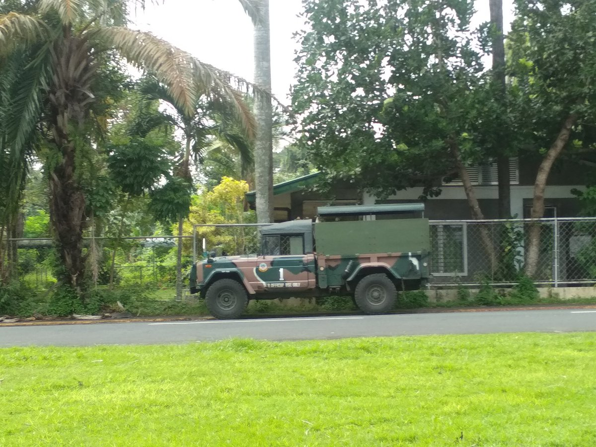 BREAKING: Military presence around the lower campus for PMA cadetship application in CAS A2. <br>http://pic.twitter.com/9FpMgPrOdp
