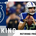 Image for the Tweet beginning: BREAKING: Andrew Luck has informed