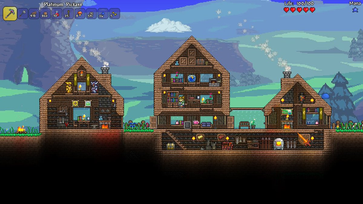 test Twitter Media - Build above,        burrow below.             Dig into Terraria —  $9.99 at PS Store: https://t.co/BBGMwDalLv https://t.co/P2jwEBKYHt