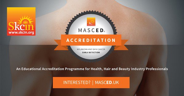 Check out @Skcin MASCED Accreditation if you work in the health or beauty sector, for more info visit http://www.masced.uk