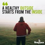 """Image for the Tweet beginning: """"A healthy outside starts from"""