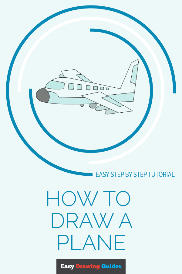 Easy Drawing Guides On Twitter Learn How To Draw An Airplane