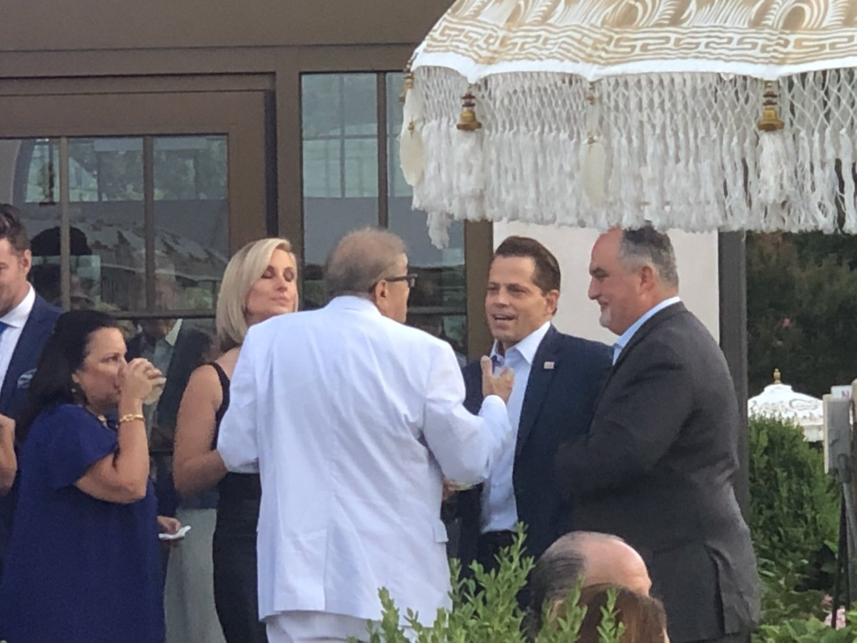 Anthony Scaramucci Turns Up At Hamptons Charity Event Featuring ... Joe Biden