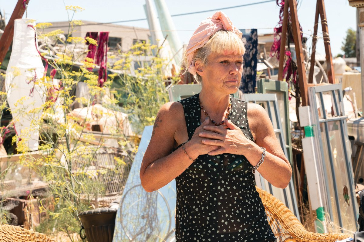 Homelessness, From Burning Man to Wood Street   HomelessHousingHomelessness, From Burning Man to Wood StreetBy Michelle Snider - August 24, 2019018ShareFacebook Twitter Google+ Pinterest WhatsApp Mavin Carter-Griffin at the Woodside homeless encampment... https://t.co/VmVuzc76XM https://t.co/mUoXzsrOW7